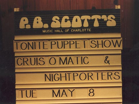 Puppet Show.....and Cruis-O-Matic