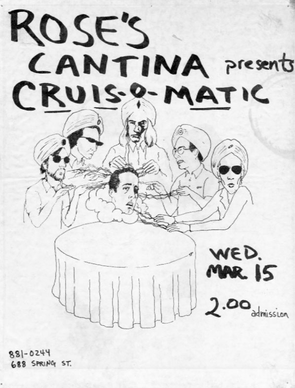 Cruis-O-Matic at Rose's Cantina -- designed by Tom Patterson